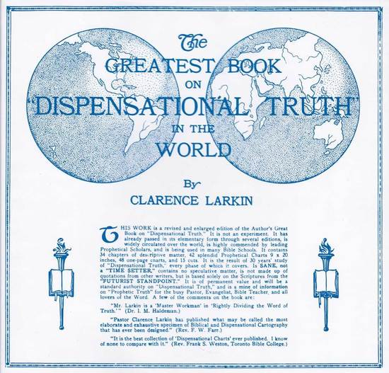Gallery dispensational truth clarence larkin