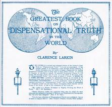 List dispensational truth clarence larkin