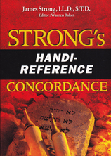 List strongs hand reference concordance