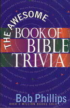 List awesome book of bible trivia