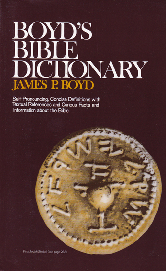 Gallery boyds bible dictionary