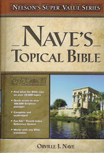 List naves topical bible