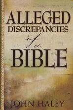 List alleged descrepancies of the bible haley