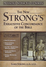 List new strongs exhaustive concordance of the bible