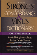 List new strongs and vines of the bible