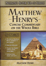 List matthew henry concice commentary of the bible