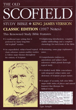 List the old scofield study bible