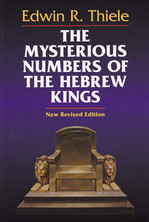 List mysterious numbers of the hebrew kings thiele