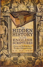 List hidden history of the english scriptures riplinger