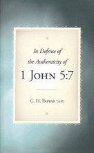 List in defense of the authenticity of 1 john 5 7